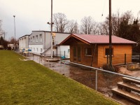 Holzhütte Foto